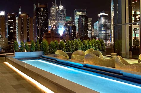 Roof Top Bar Nyc by Press Longe In Nyc Tododesign By Arq4design