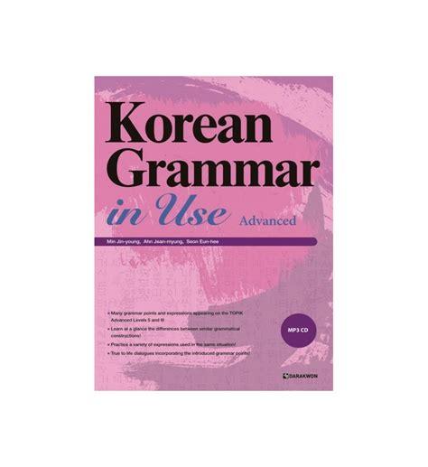 libro advanced grammar in use vendita online korean grammar in use studiare coreano livello avanzato