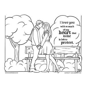 i love you so much coloring pages shakespeare valentine s quote