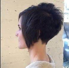 cropped hairstyles with wisps in the nape of the neck for women 17 best images about inverted bob s on pinterest