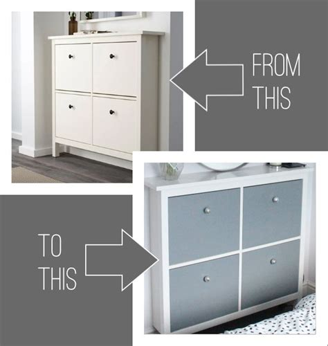 Ikea Hemnes Hack Shoe Cabinet Hemnes Upcycle And Detail