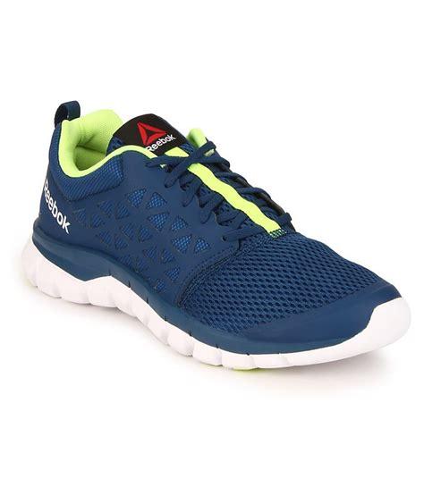 blue reebok running shoes reebok sublite xt cushion 2 0 blue running shoes price in