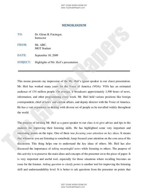 template for writing a memo memorandum writing how to write memo academic assignment