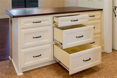 kitchen island drawers kitchen drawer storage ideas axiomseducation
