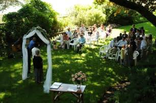 Small Backyard Wedding Ideas Outdoor Wedding Ideas On A Budget