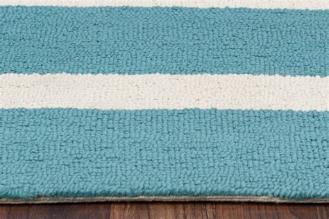 simple pattern area rugs azzura hill simple stripe pattern area rug in teal ivory