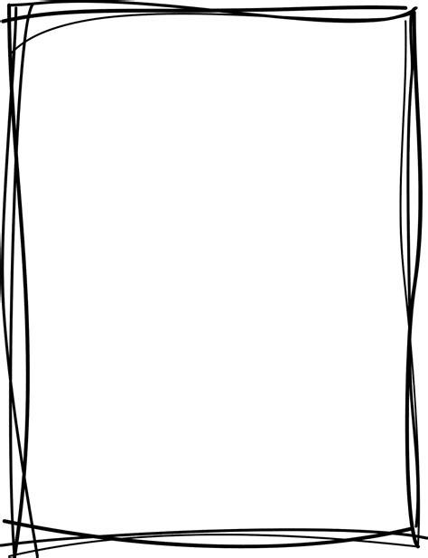 Doodle frame png, Doodle frame png Transparent FREE for