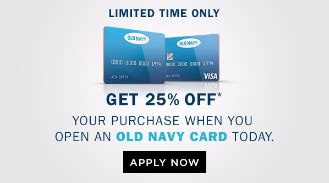 old navy coupons with credit card old navy credit card
