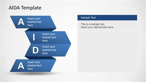 powerpoint layouts templates aida template for powerpoint slidemodel