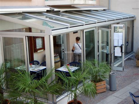 Verande Vetro E Alluminio by Progetto Creazione Veranda In Alluminio E Vetro Mod