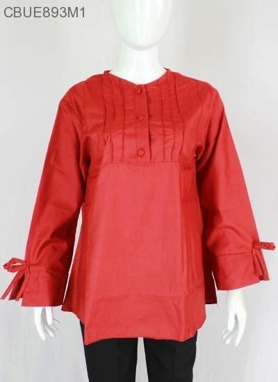 Celana Cutbray Wanita Katun Murah atasan wanita blus katun polos kancing kiara blus lengan
