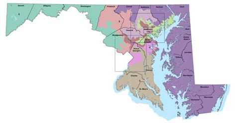 maryland map congressional districts federal judges reject challenge to md congressional districts