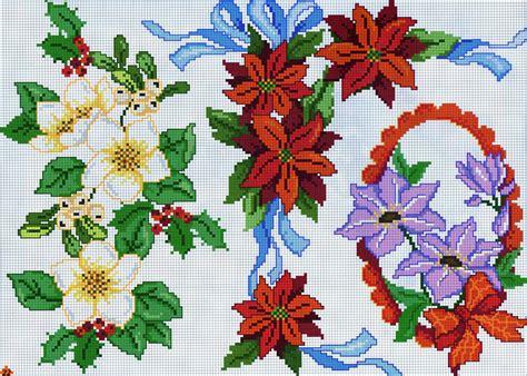 fiori a natale natale fiori viola magiedifilo it punto croce