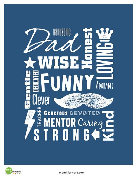 printable dad quotes father s day word art printable mom it forward