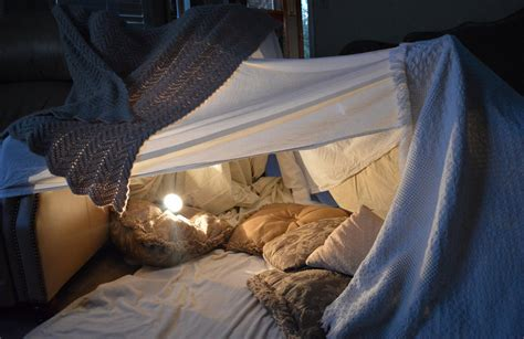 Pillow Blanket Fort by Blanket Fort By Intrgalactcbnnyfluff On Deviantart