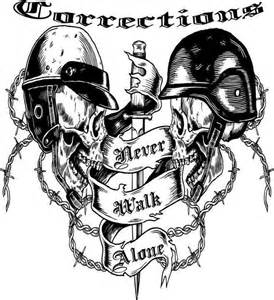 correctional officer we never walk alone correctional