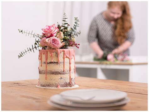 glasur für kuchen selber machen hochzeitstorte selber backen cake mit eukalyptus