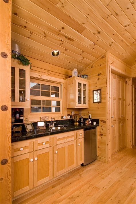 kitchen cabinets on knotty pine walls interior epic small kitchen decoration using rustic