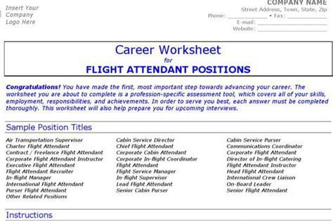 Resume Flight Attendant Exle by Resume Template Free Premium Templates Forms