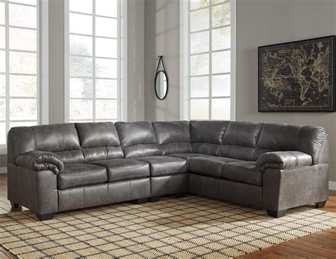 leather sectional sofa ashley ashley signature design bladen 3 piece faux leather