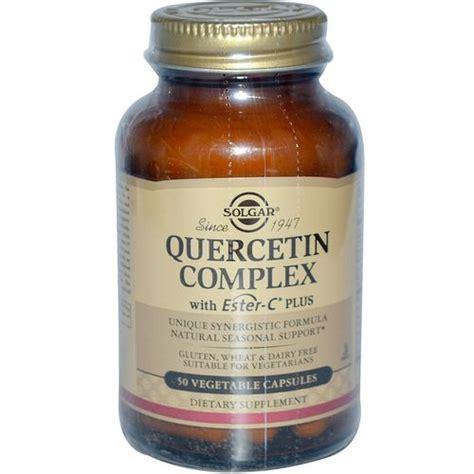 Quercetin Liver Detox by Solgar Quercetin Complex With Ester C Plus 50 Vegetable