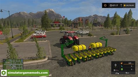 Deere 1760 12 Row Planter by Fs17 Deere 1760 12 Row Planter V 1 1 1 Simulator
