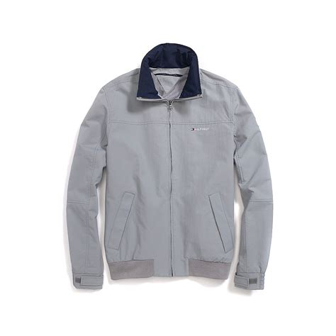 yacht jacket tommy hilfiger tommy hilfiger yacht jacket in gray for men alloy lyst