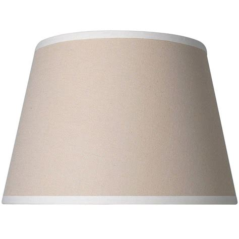 White L Shade Black Trim by Mix Match Beige Accent Shade With White Trim 16144 The