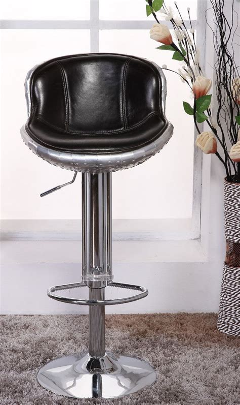 Genuine Leather Swivel Bar Stools by Vintage Aviation Genuine Leather Bar Stool Buy Genuine