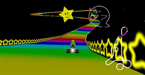 Rainbow Road rainbow road mario kart 64 gametripper review