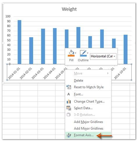 format axis in excel 2007 charts how to change date format in axis of chart pivotchart in