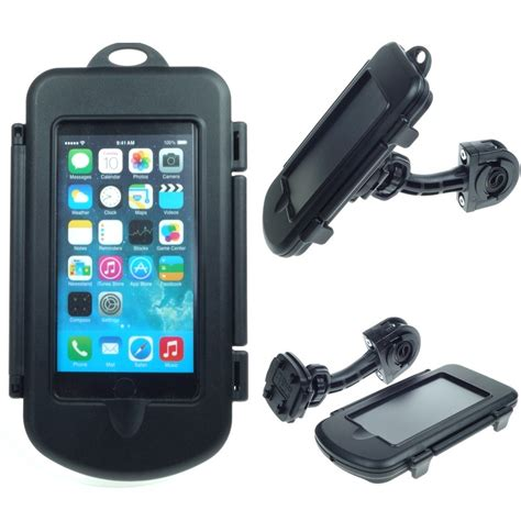 waterproof apple iphone 6 6s motorcycle bike handlebar mount holders and mounts
