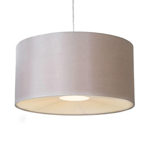 Large Ribbon Easy To Fit Ceiling Shade Drum Mocha From Shade Ceiling Light