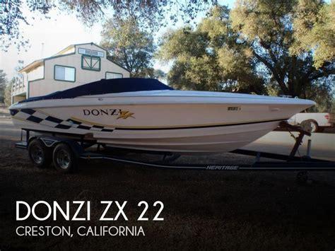 donzi boats for sale california for sale used 2001 donzi zx 22 in creston california