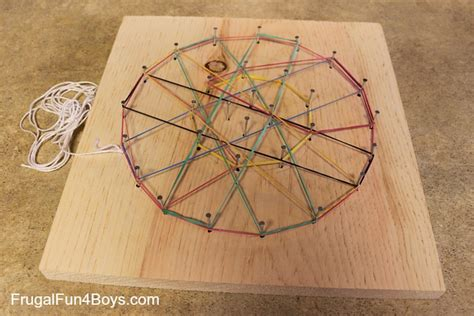 woodworking projects for boys a sock spider with a spider web woodworking craft