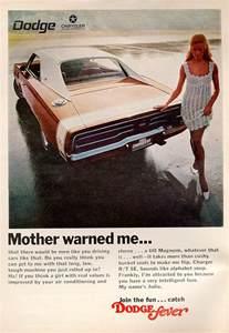 Dodge Ad Vintage Charger Ads Warned Me He Lets Me Clean