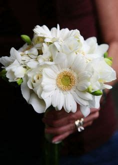 Wedding Bouquets Using Gerberas by Posy Wedding Bouquet With White Gerbera Daisies Lavender
