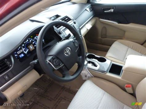2013 Toyota Camry Interior Ivory Interior 2013 Toyota Camry Hybrid Le Photo 75308925