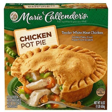 Calendar Pies Frozen Pot Pies Callender S