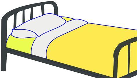 bed clip art single bed svg vector file vector clip art svg file