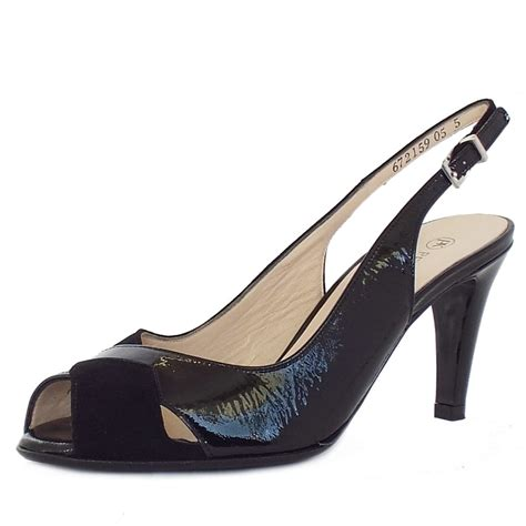 High Heel Peep Toe Sandals kaiser sybylle s dressy high heel sandals in