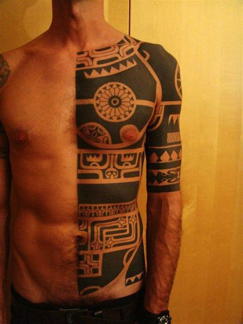 half body tribal tattoos 75 exclusive tribal tattoos designs tribal