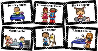 Free Kitchen Posters center signs prekinders