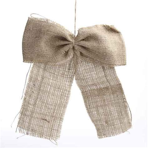 how to place burlap bow and burlap streamers on christmas tree 15 engrossing ways to make a burlap bow guide patterns