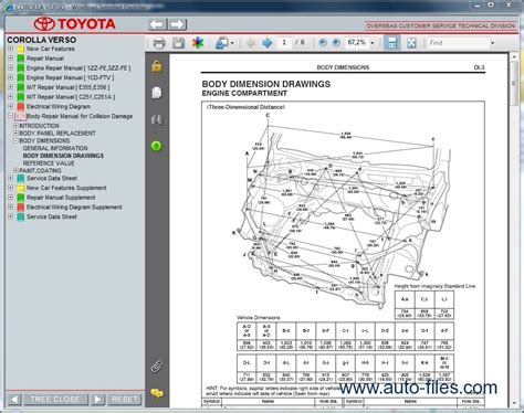 car repair manuals download 2005 toyota corolla electronic throttle control toyota corolla verso repair manuals download wiring diagram electronic parts catalog epc