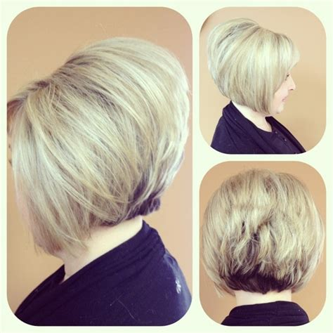 short stacked bob haircuts on pinterest short blonde hair stacked bob hair inspiration