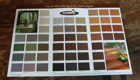 high resolution olympic deck stain color chart 10 olympic wood stain color chart newsonair org