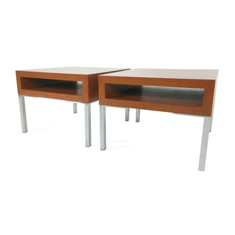 designer accent tables 75 off unknown brand pair of designer end tables tables