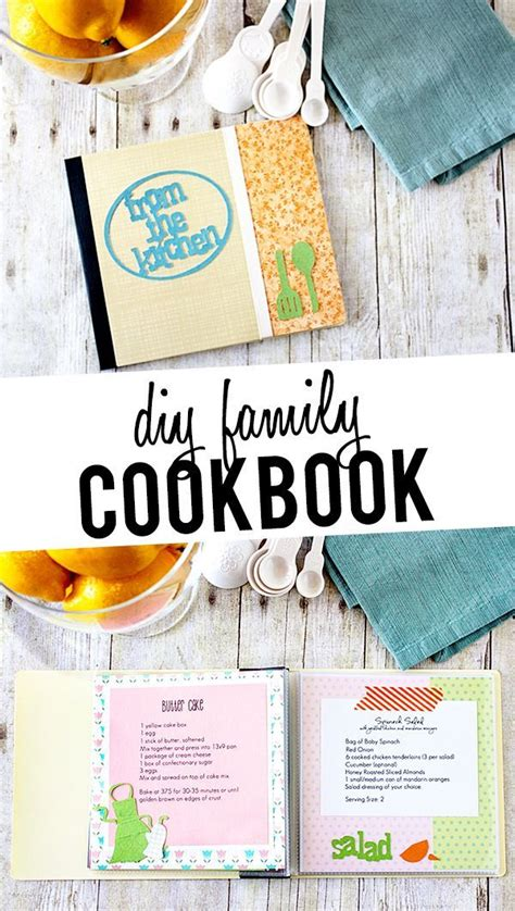 Handmade Cookbook Ideas - 1000 images about cookbook diy on