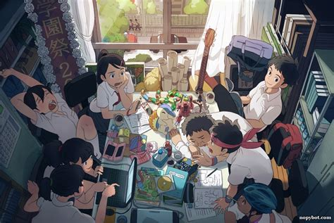 anime and club escaping the chains of reality the of anime nopy